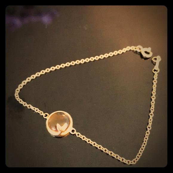 548b8c80f Tiffany & Co. Jewelry | Tiffanys Paloma Olive Leaf 18k Gold Citrine ...